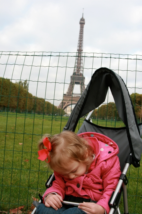 BabyHope at the Eiffel Tower